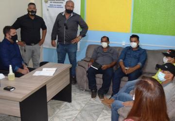 Vereadores de Nova Guarita fazem visita ao presidente da Câmara Evandro Kommers e montam comissão pró asfaltamento MT 410