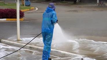 Sinop: desinfecção biológica em avenidas para reduzir risco de contágio do Coronavírus começa nesta 4ª