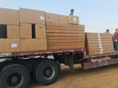 Estado recebe equipamentos da China para equipar hospital