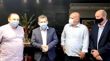 Governador confirma instalação de 10 leitos de UTIs no Hospital Regional de Peixoto