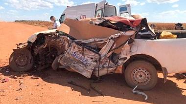 Colisão envolvendo caminhonete da SEMA e carreta deixa dois mortos em Mato Grosso