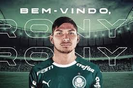 Palmeiras oficializa a contratação de Rony por cinco temporadas