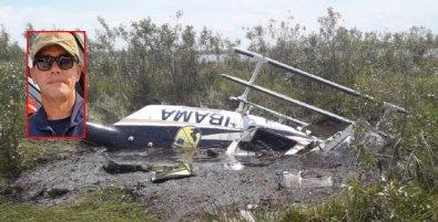 Helicóptero cai no Pantanal de MT e coronel dos Bombeiros morre