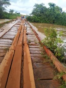 Aproximadamente 30 famílias estão ilhadas em Paranatinga